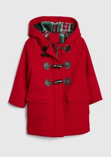 Gap Toddler Flannel-Lined Duffle Coat