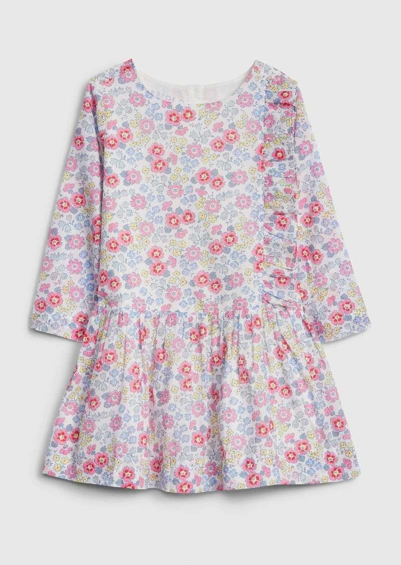 Gap Toddler Floral Drop-Waist Dress
