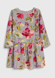 Gap Toddler Floral Drop-Waist Dress