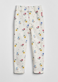 Gap Toddler Floral Print Jeggings with Fantastiflex