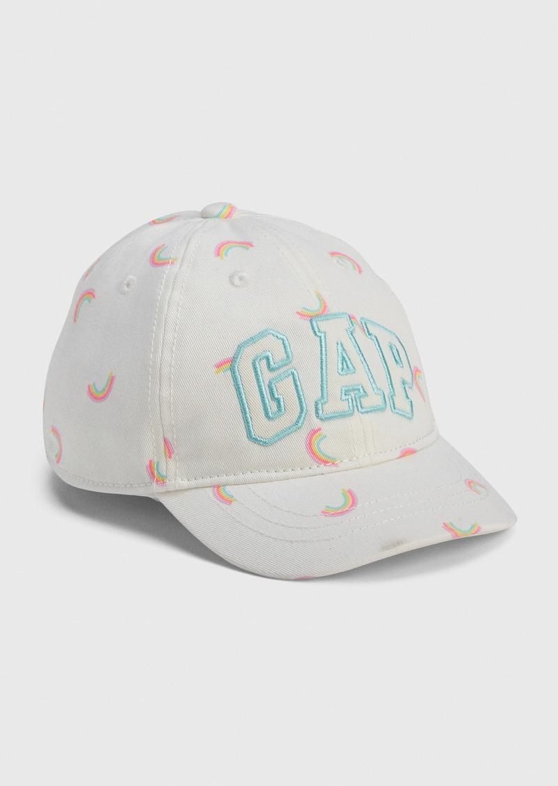 Toddler Gap Logo Rainbow Baseball Hat