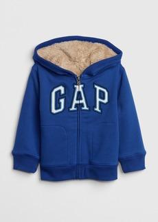 Toddler Gap Logo Sherpa Sweatshirt
