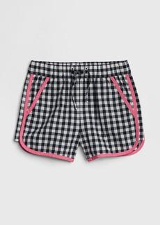 Gap Toddler Gingham Pull-On Shorts
