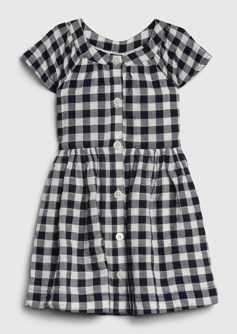 Gap Toddler Gingham Shirtdress