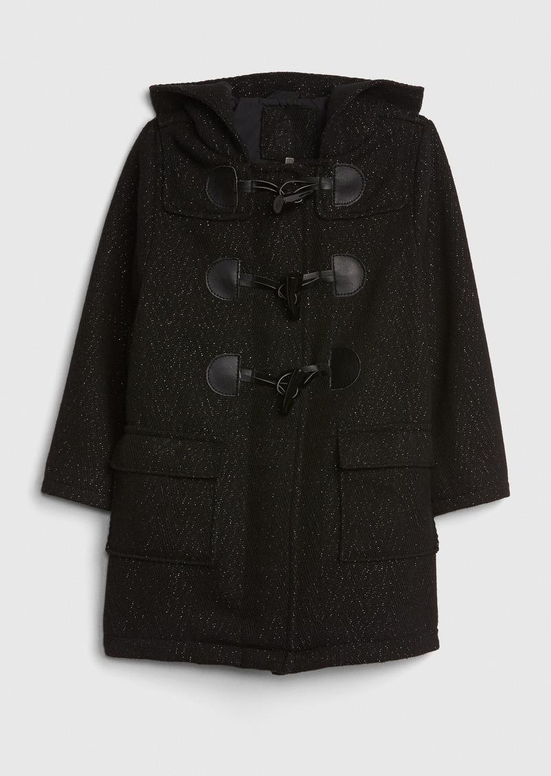 Gap Toddler Glitter Duffle Coat
