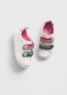 Gap Toddler Glitter Rainbow Sneakers