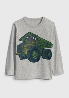 Gap Toddler Graphic Long Sleeve T-Shirt