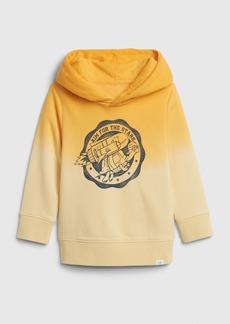 Gap Toddler Graphic Ombre Hoodie Sweatshirt