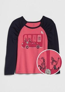 Gap Toddler Graphic Puff-Sleeve T-Shirt