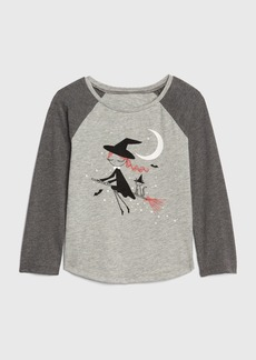Gap Toddler Glow-in-the-Dark Graphic Raglan T-Shirt