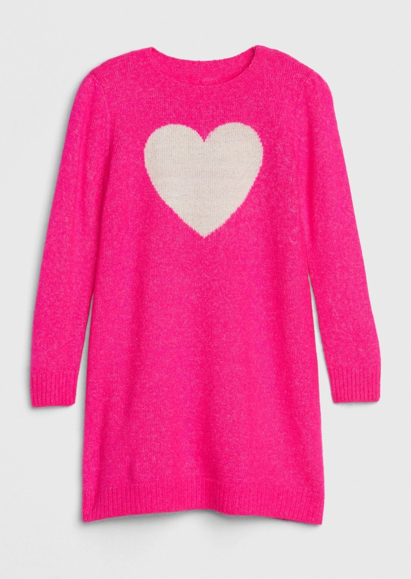 Gap Toddler Heart Sweater Dress