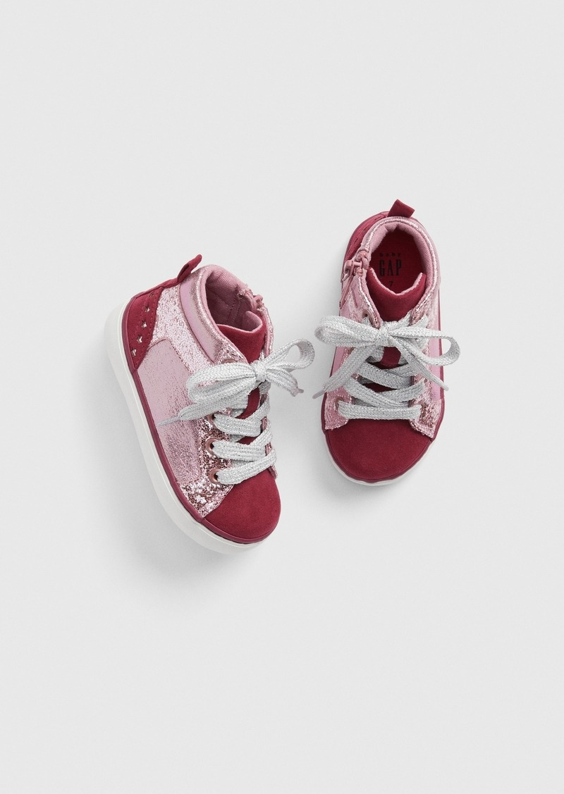 Gap Toddler Hi-Top Sneakers