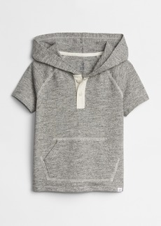 Gap Toddler Hoodie Henley Short Sleeve T-Shirt
