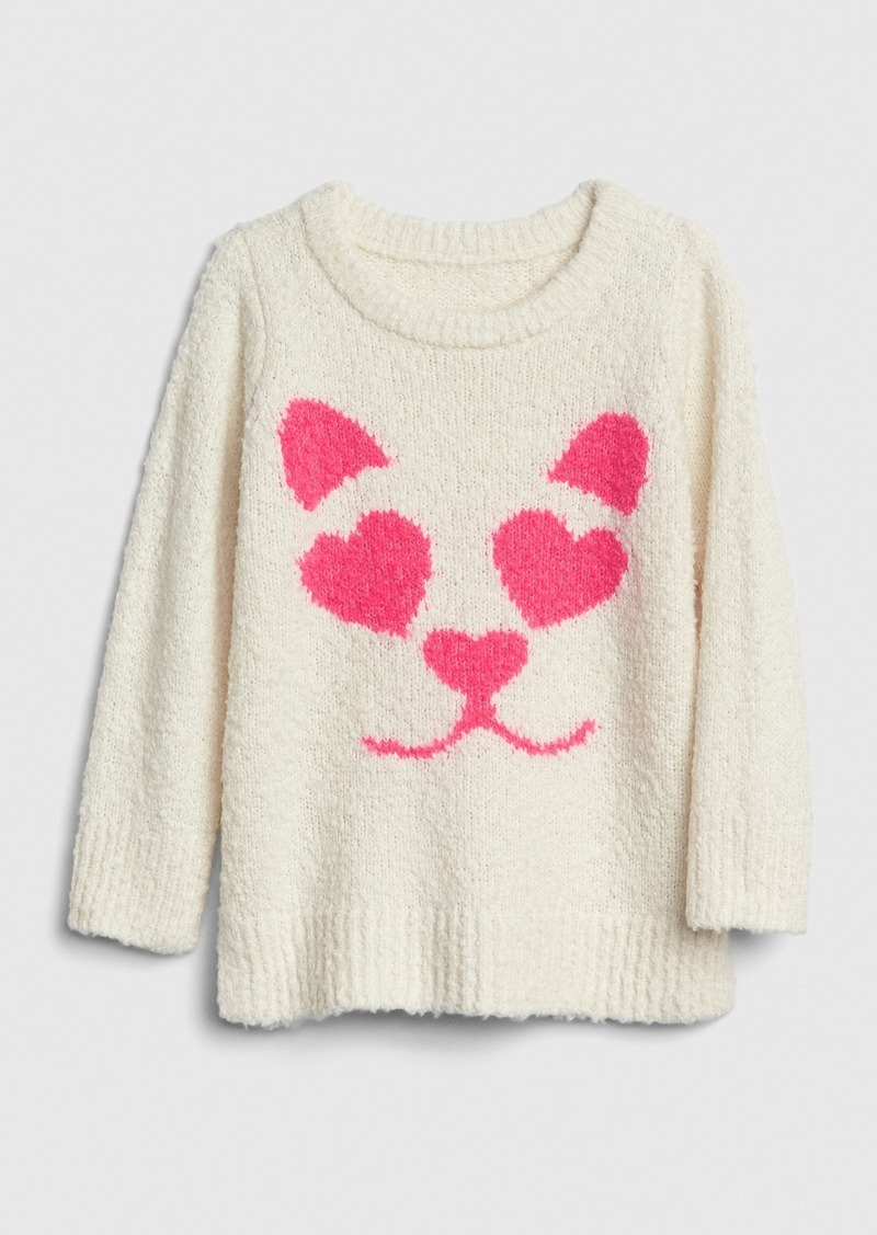Gap Toddler Intarsia Fuzzy Sweater