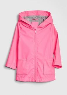 Gap Toddler Jersey-Lined Rain Jacket