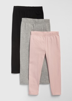 Gap Toddler Leggings In Stretch Jersey (3-Pack)