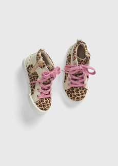 Gap Toddler Leopard Hi-Top Sneakers
