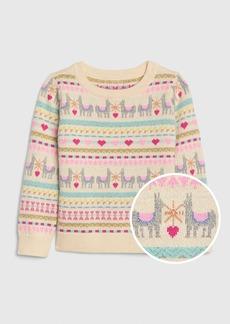 Gap Toddler Llama Sweater