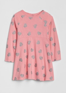 Gap Toddler Long Sleeve Fit and Flare Dress