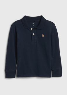 Gap Toddler Long Sleeve Polo Shirt
