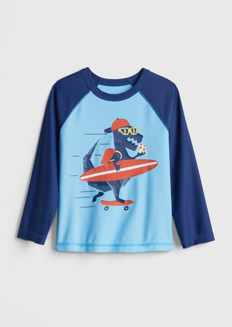 Gap Toddler Long Sleeve Rashguard