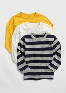 Gap Toddler Long Sleeve T-Shirts (3-Pack)