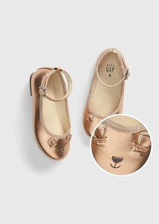 Gap Toddler Metallic Brannan Bear Ballet Flats