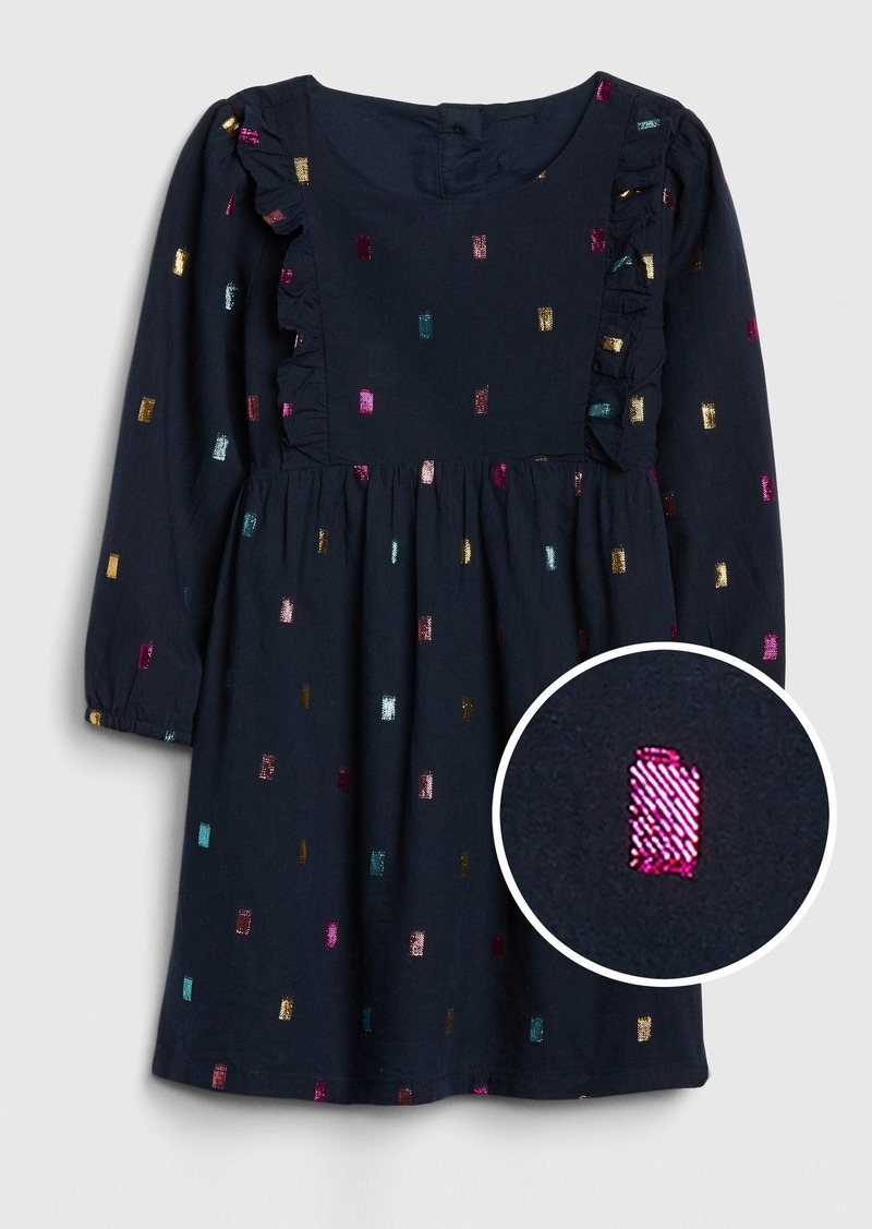 Gap Toddler Metallic Dot Dress