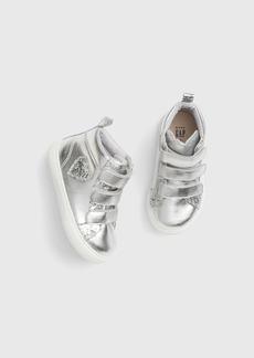 Gap Toddler Metallic Hi-Top Sneakers
