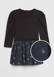 Gap Toddler Mix-Media Dress