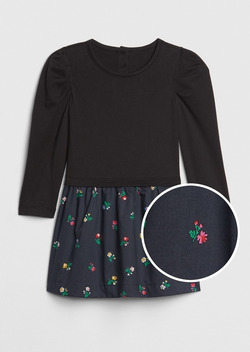 Gap Toddler Mix-Media Dress