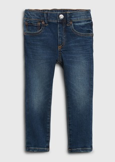 Gap Toddler Organic Elasticized Pull-On Slim Taper Jeans with Stretch