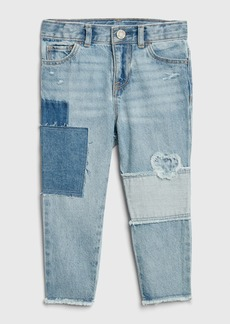 Gap Toddler Patch Girlfriend Jeans