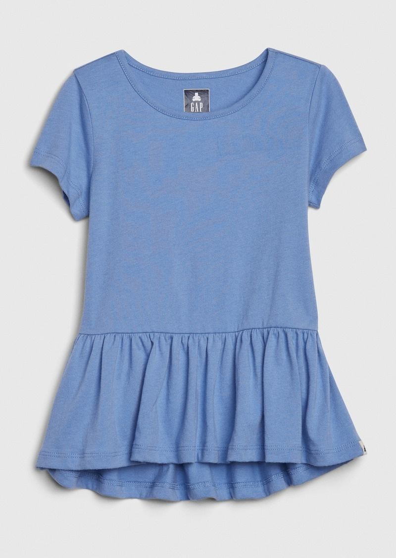 Gap Toddler Peplum Tunic T-Shirt