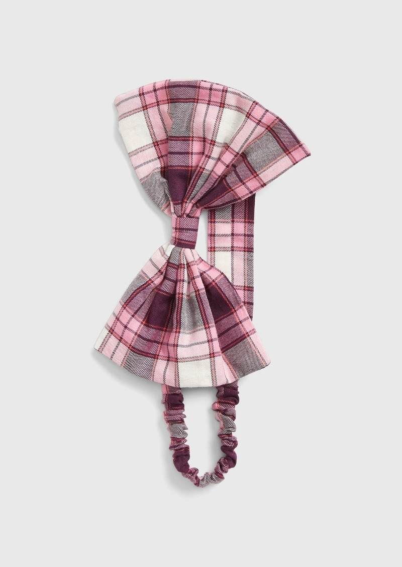 Gap Toddler Plaid Bow Headband