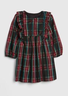 Gap Toddler Plaid Ruffle Dress