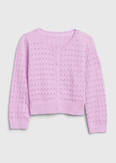 Gap Toddler Pointelle Cardigan Sweater