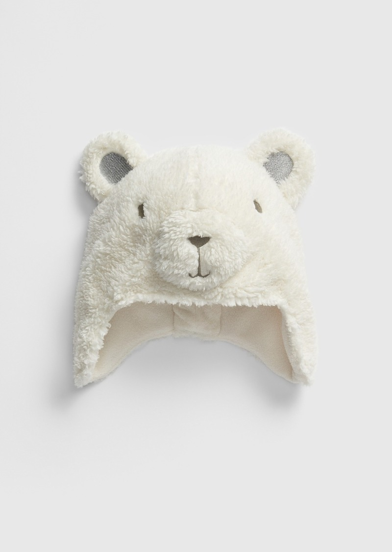 Gap Toddler Polar Bear Trapper Hat