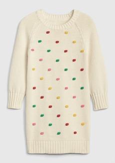 Gap Toddler Popcorn-Knit Sweater Dress