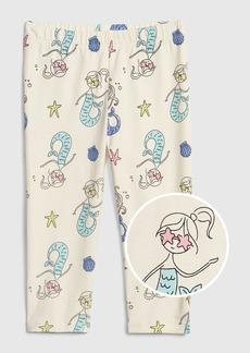 Gap Toddler Print Capri Leggings in Stretch Jersey