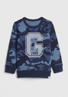 Gap Toddler Print Crewneck Sweatshirt