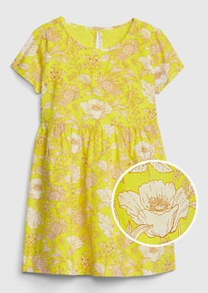 Gap Toddler Print Fit And Flare Dress