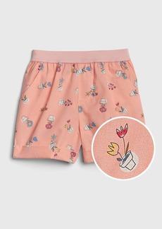 Gap Toddler Print Metallic Pull-On Shorts