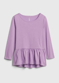 Gap Toddler Print Peplum Tunic Top