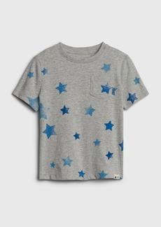 Gap Toddler Print Pocket T-Shirt