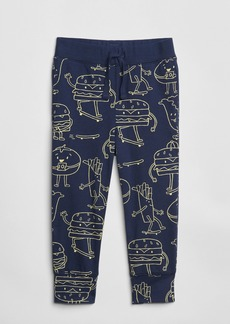 Gap Toddler 100% Organic Cotton Mix and Match Print Pull-On Joggers