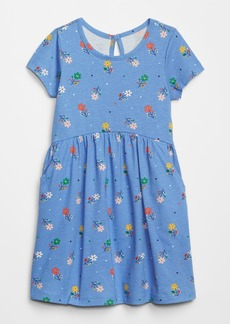 Gap Toddler Print Short Sleeve Dress
