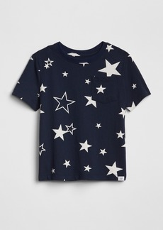 Gap Toddler Print Short Sleeve T-Shirt