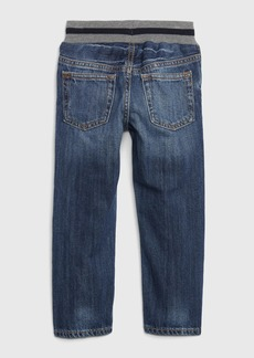 Gap Toddler Pull-On Graphic Slim Jeans with Washwell&#153