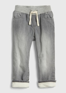 Gap Toddler Pull-On Lined Straight Jeans